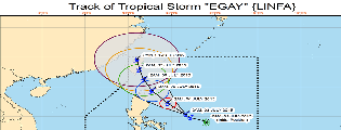 OML Center WEATHER ADVISORY Tropical Storm EGAY and Typhoon Chan-Hom (as of 3 July 2015, 9:00 AM)