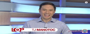 "Tj Manotoc serves up latest and trending news on abs-cbnnews.com's ""In the loop"""
