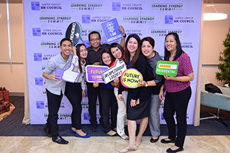 FOR HRs and other employees of the Lopez Group, the Learning Synergy Summit (LSS) organized by the HR Council was a day for immersing themselves in all things digital.