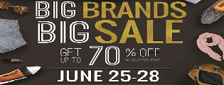 Power Plant Mall Big Brands Big Sale this on June 25 - 28
