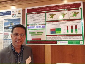 OML Center, Scientific Director, Dr. Rodel D. Lasco at the Intergovernmental Panel on Climate Change, Food and Agriculture in Dublin, Ireland.