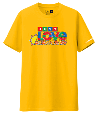 Just Love Araw-Araw Shirt-2 - Canary Yellow
