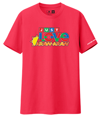 Just Love Araw-Araw Shirt-2 - Heliconia Pink