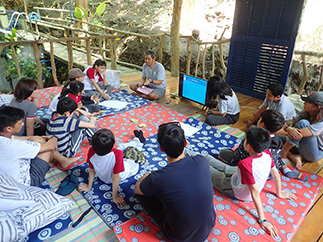 Youngsters dive into marine biodiversity in EcoCamp by the SEA