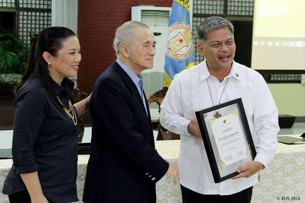 KCh, DepEd ink partnership anew