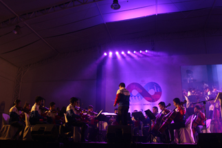 The Orchestra of the Filipino Youth opens the program on a high note