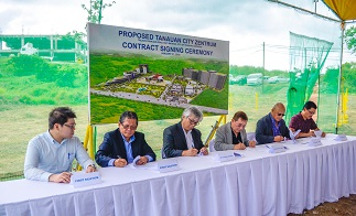 Zentrum project breaks ground