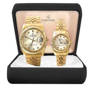 Caritas Couple Diamond Watch P5490