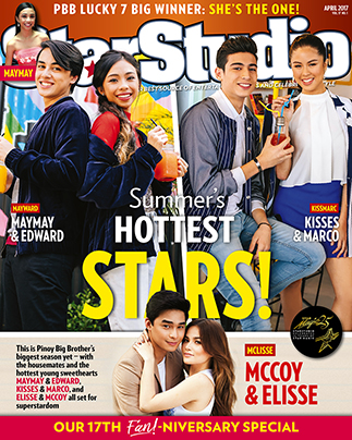 Maymay Entrata and Edward Barber, Kisses Delavin and Marco Gallo, and Elisse Joson and McCoy de Leon