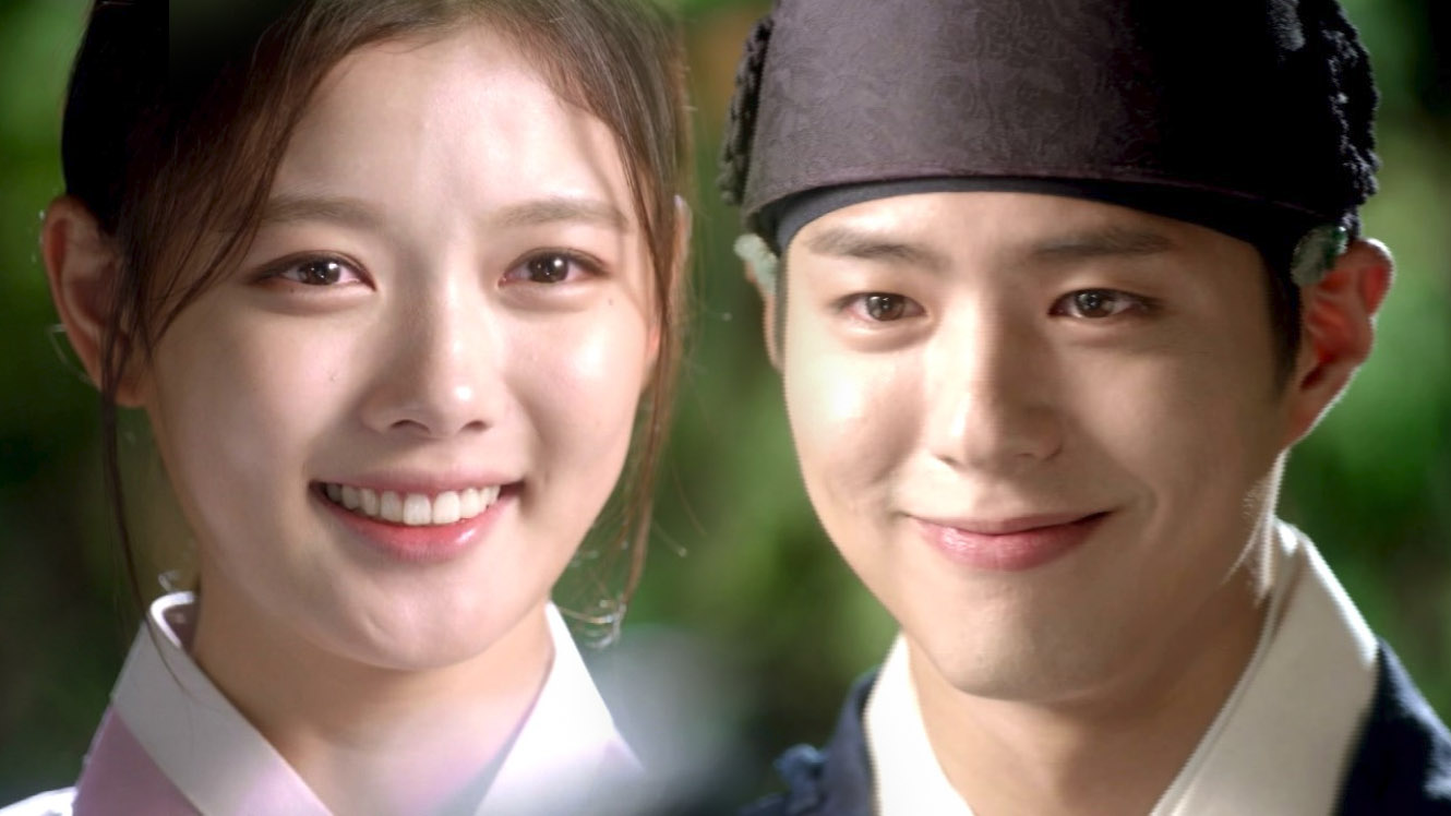 Kim Yoo Jung and Park Bo Gum