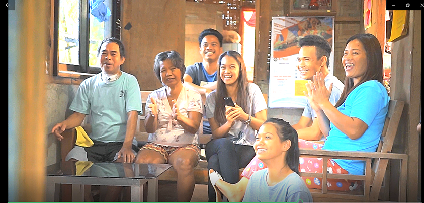 : Marvin Laparan, a SKYdirect subscriber from Davao del Norte, was featured in one of the two testimonial TVCs of SKYdirect