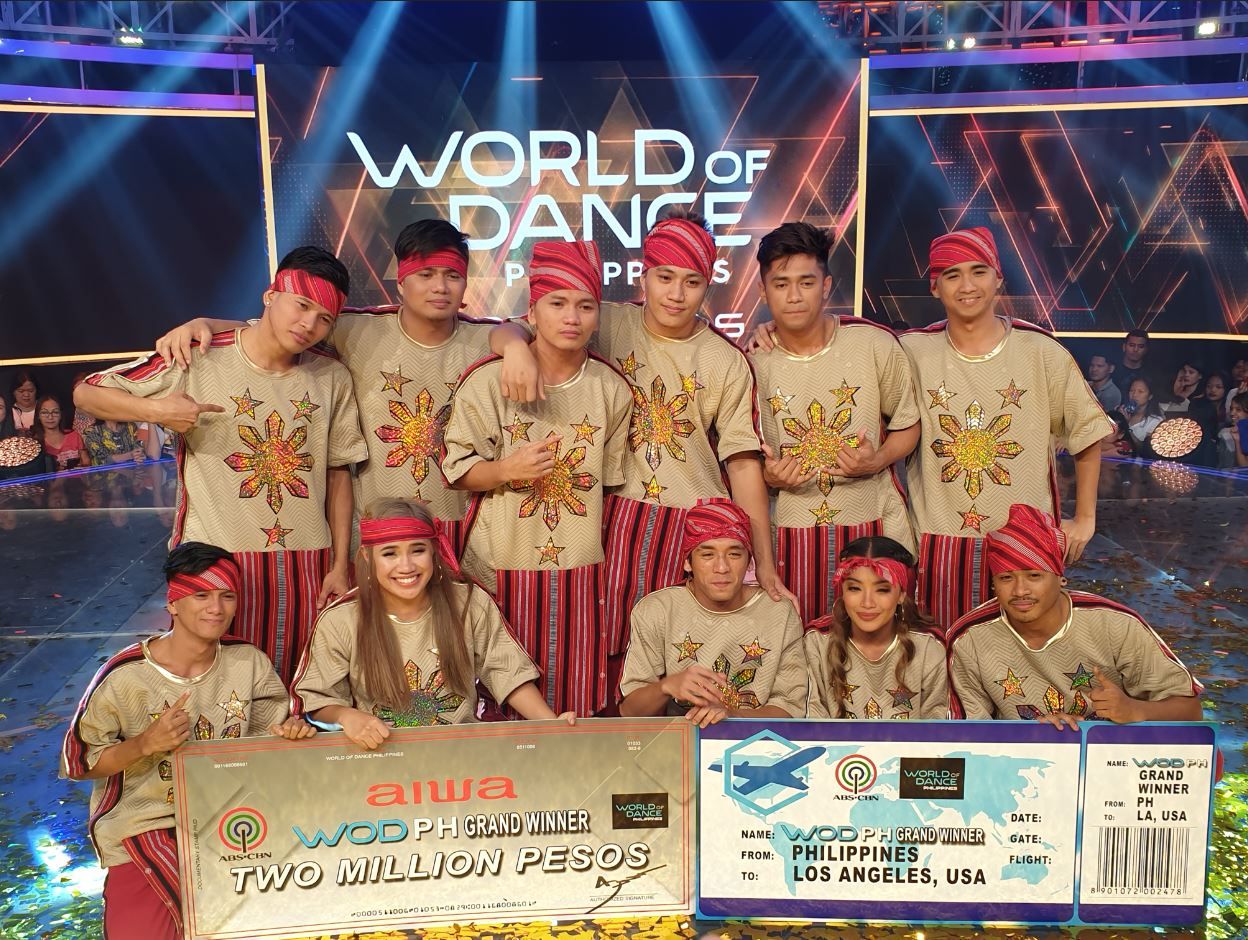 FCPC Baliktanaw is first 'World of Dance Philippines' champ
