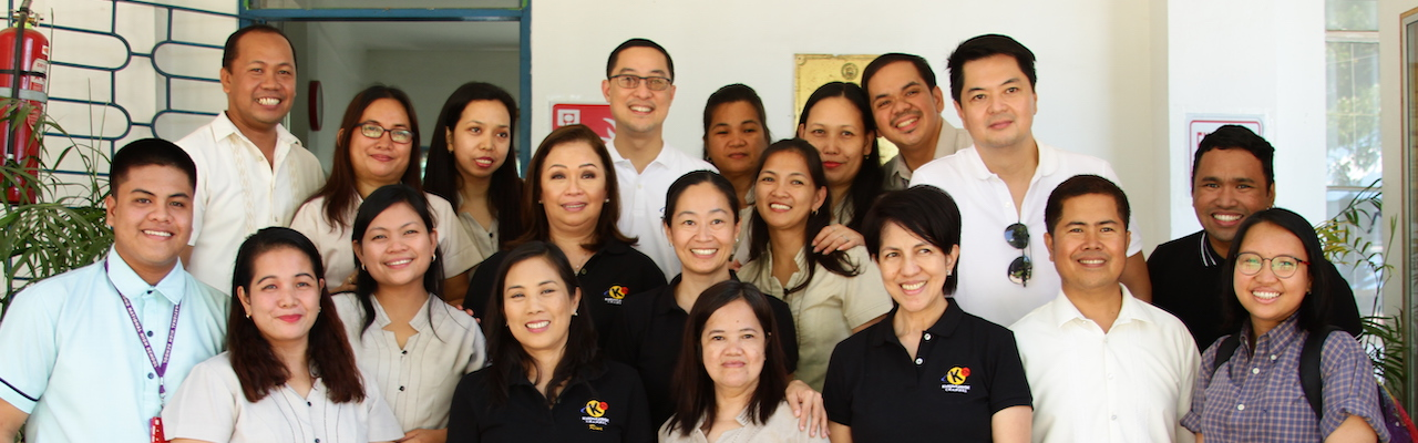 Members of the KCFI board of trustees led by Rina Lopez-Bautista, Carlo L. Katigbak, Cory Vidanes, Atty. Maria Amina Amado, Edric Calma and Danie SedillaCruz with DepEd representatives and school officials in Rizal
