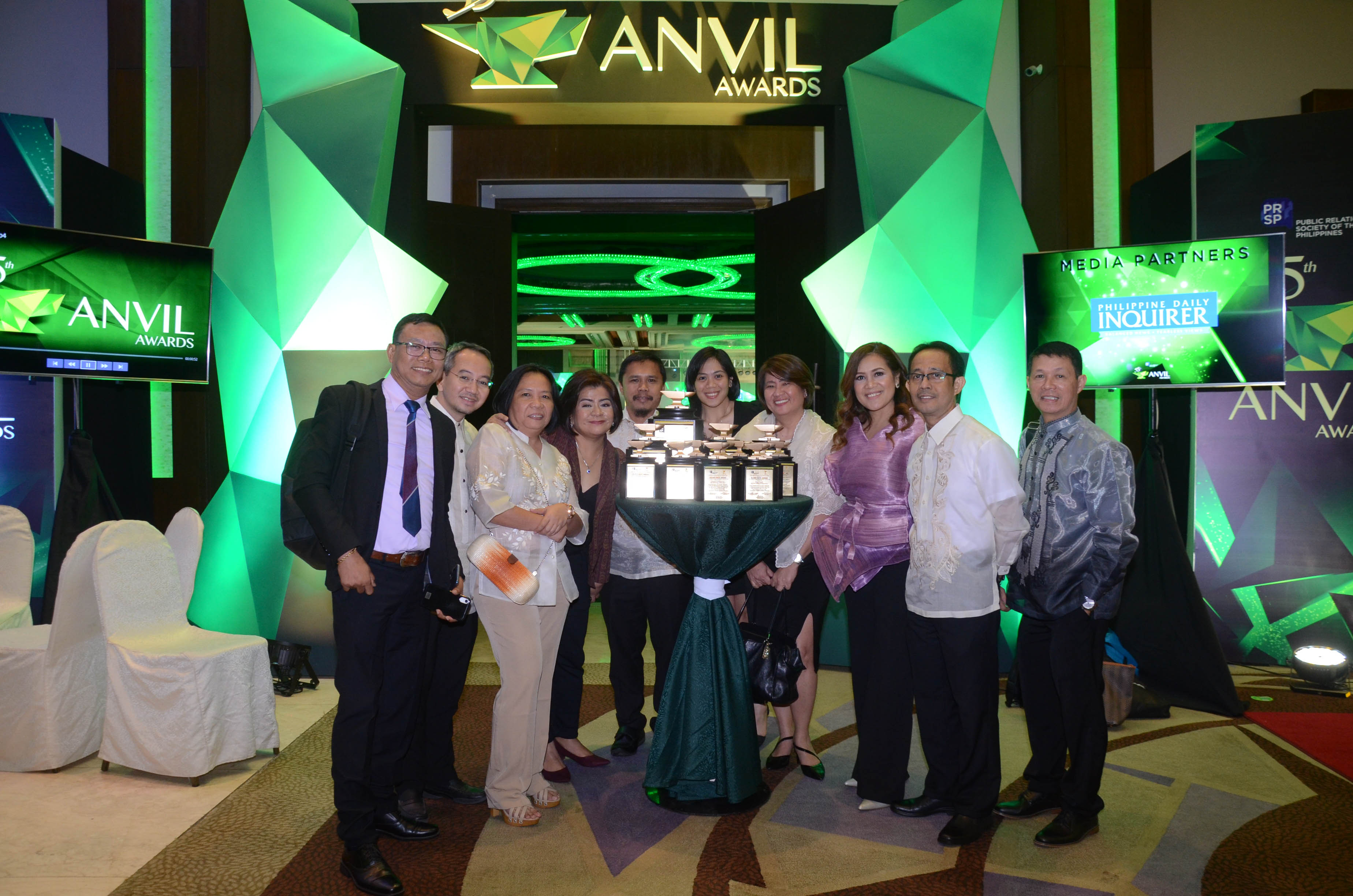EDC picks up top honor at 55th Anvil Awards
