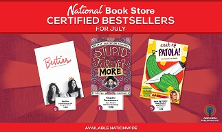 ABS-CBN Publishing July Bestsellers