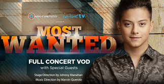 Daniel Padilla reaches out to fans with Most Wanted Concert on-demand on ABS-CBN mobile