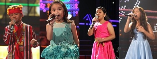 "Elha, Esang, Reynan, and Sassa set to clash n ""The Voice Kids"" Season 2 Grand Finals"