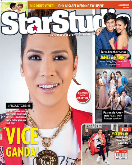 The real Vice Ganda in 'StarStudio'