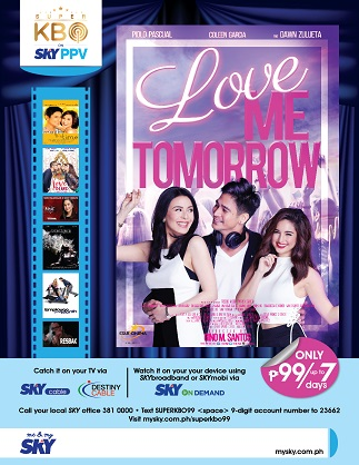 Love Me Tomorrow on Super KBO, Sky PPV