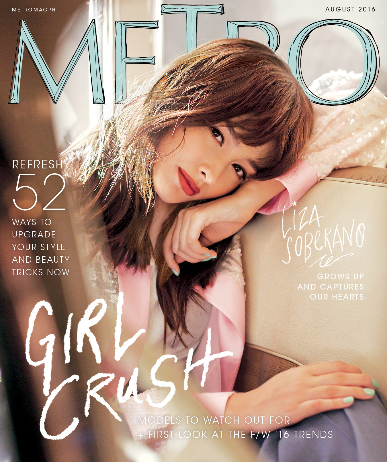 Liza as the ultimate girl crush in 'Metro'