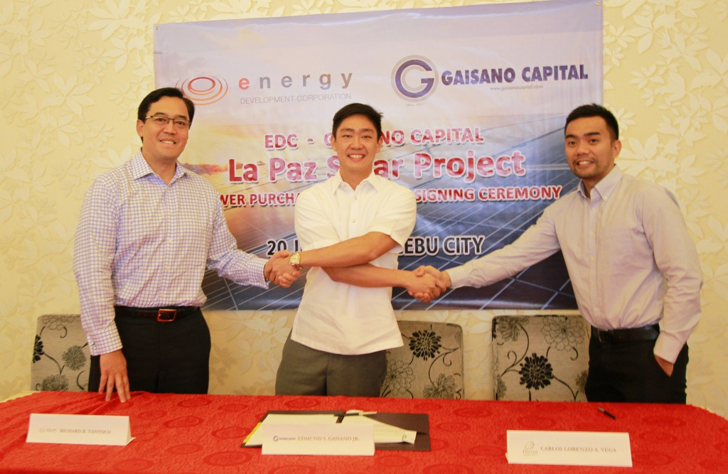 EDC ventures into solar rooftop; seals deal with Gaisano Capital malls