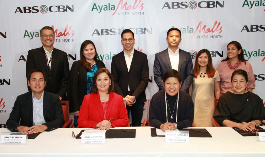 ABS-CBN joins forces with Ayala Malls for ABS-CBN Vertis Tent