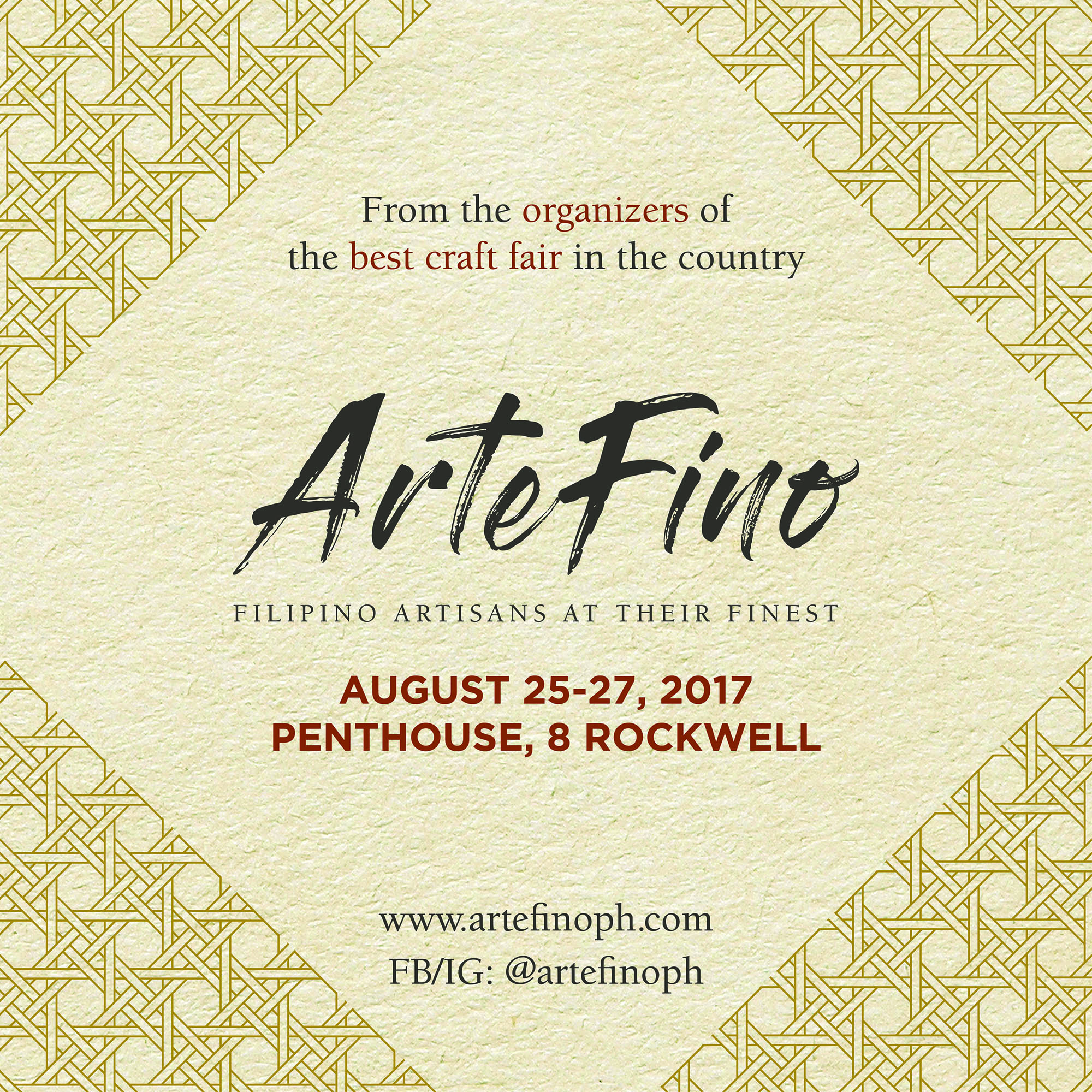 ArteFino: Getting to the heart of Filipino life and style