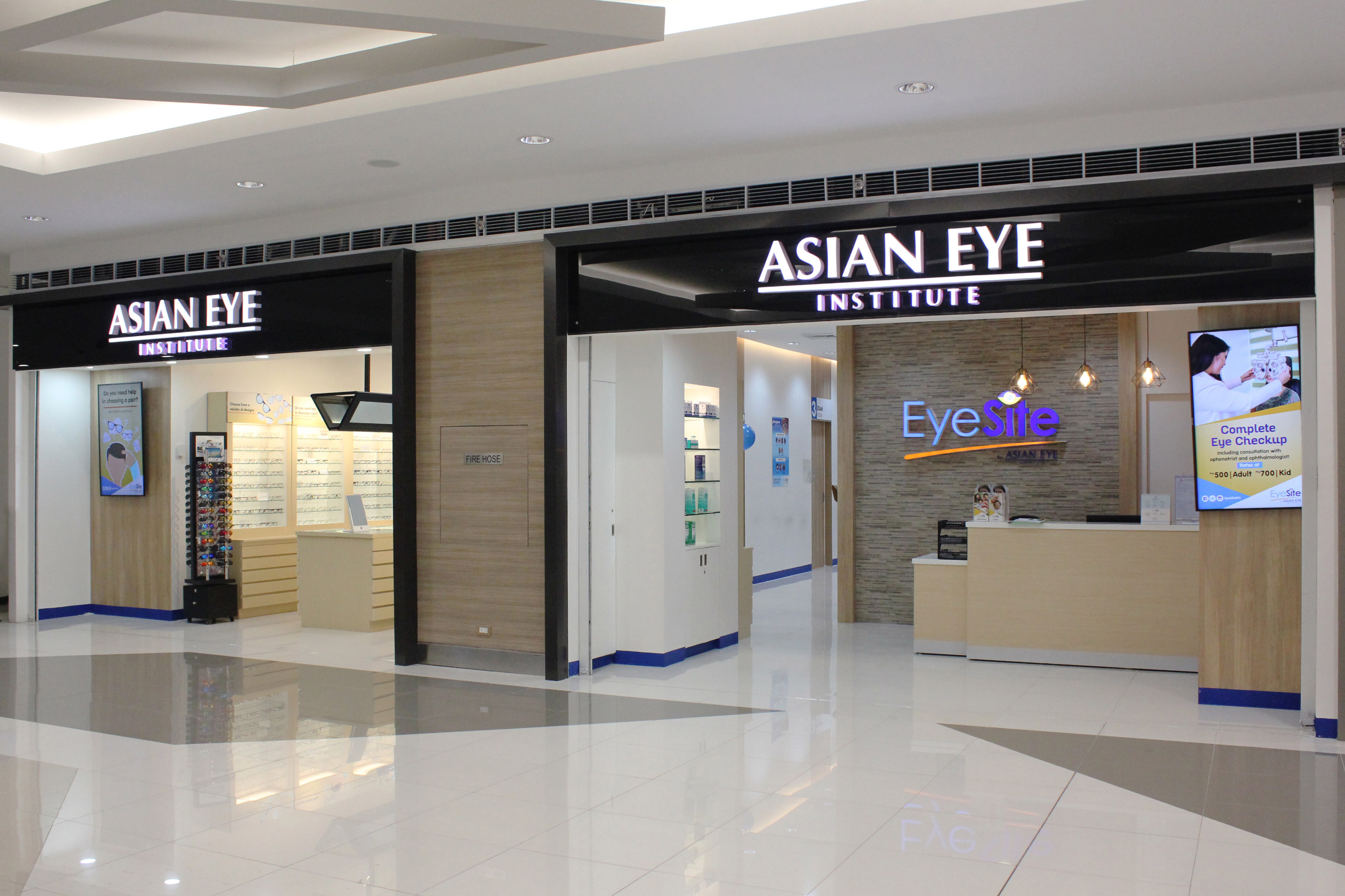 EyeSite SM Fairview is Asian Eye's first such facility in Metro Manila