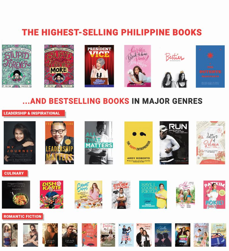 The Highest-Selling Philippine Books