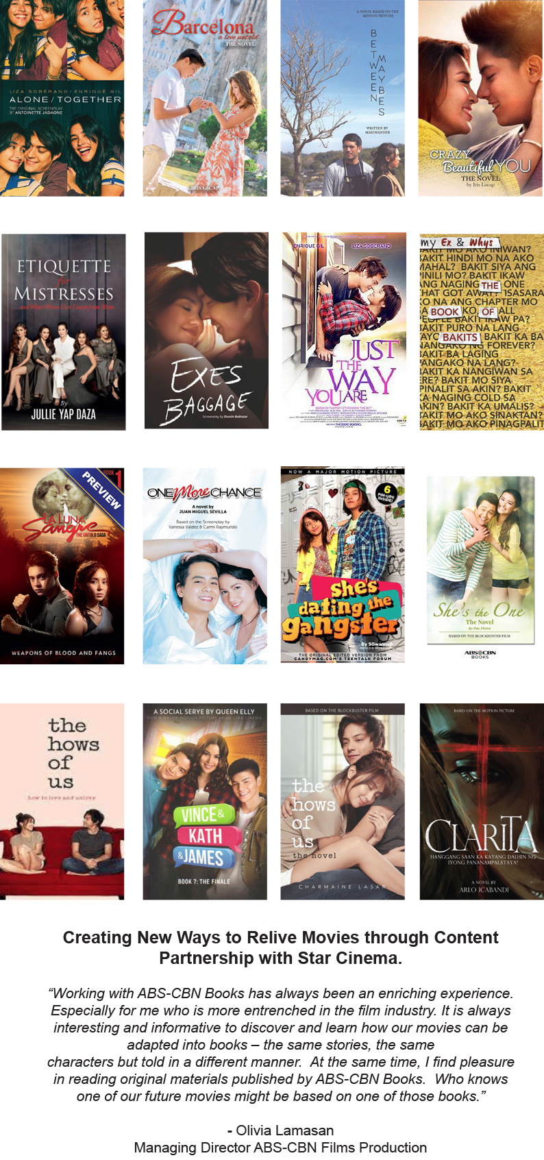 Star Cinema Leads Charge with Book Adaptations of Hit Movies