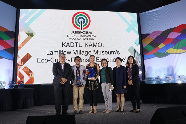 L-R: LCF chair Mario Deriquito, Bantay Kalikasan cluster lead Mikhail Dizon, program director Jen Santos, ALKFI research and media relations manager Ana Junio, LCF Expo 2019 chair Cecile Alcantara and LCF executive director Helen Orande