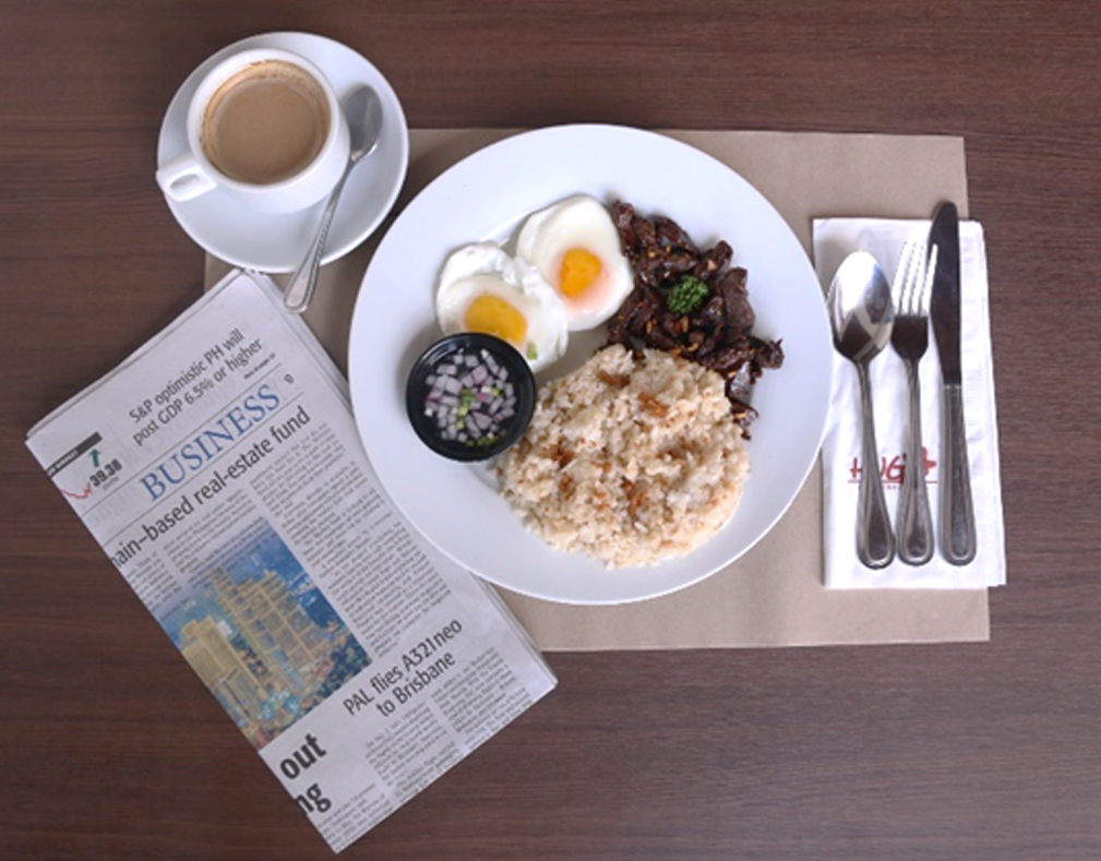 Breakfast: 'Tapsilog' by Hugo Grillery