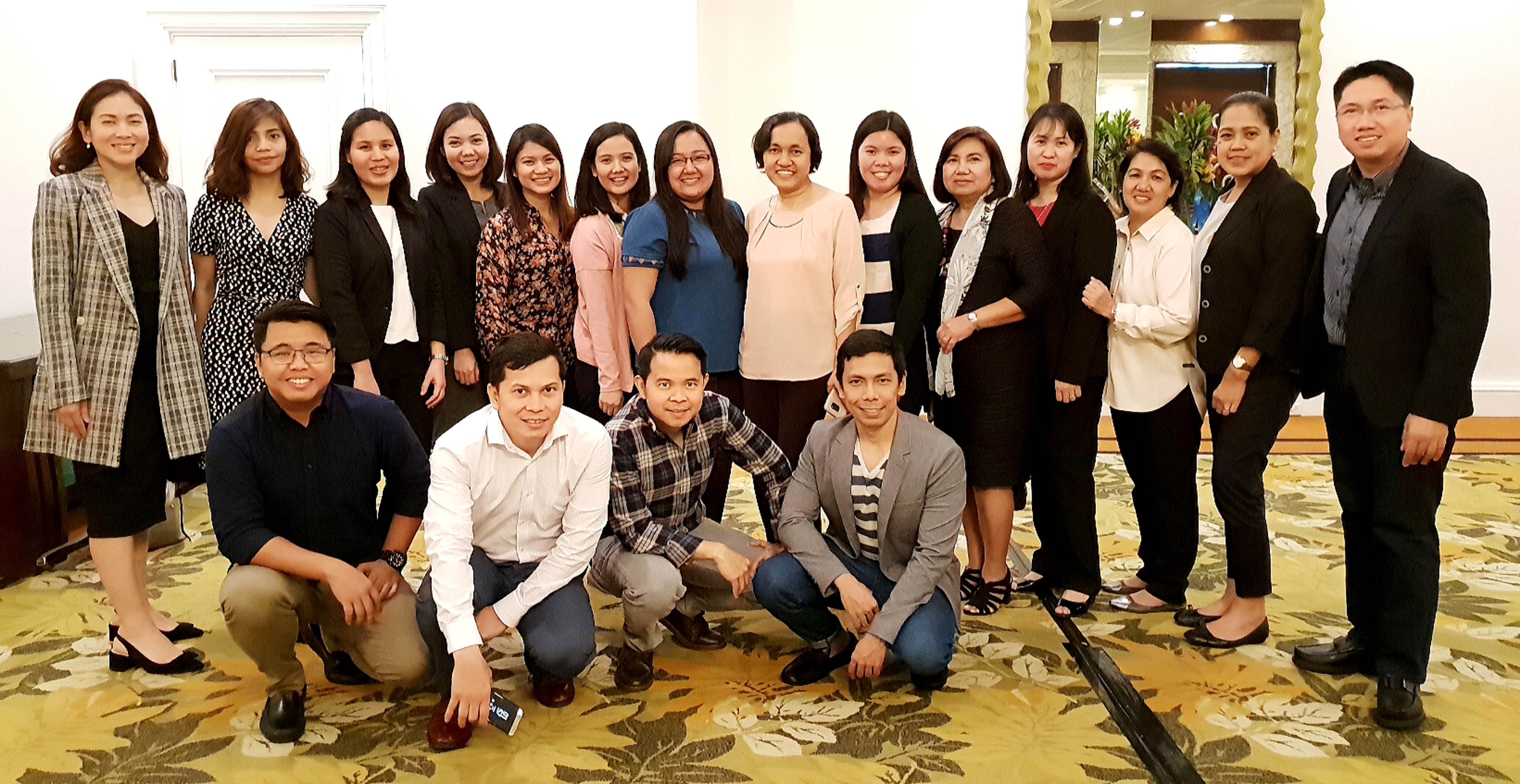 Comptrollers' Circle officers and members gather at Edsa Shangri-La Hotel for one of the biggest events for Filipino accountants