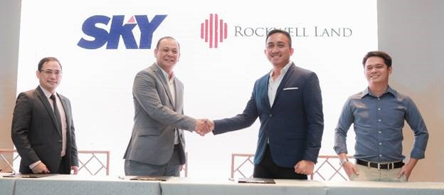 SKYBIZ, Rockwell Land ink partnership