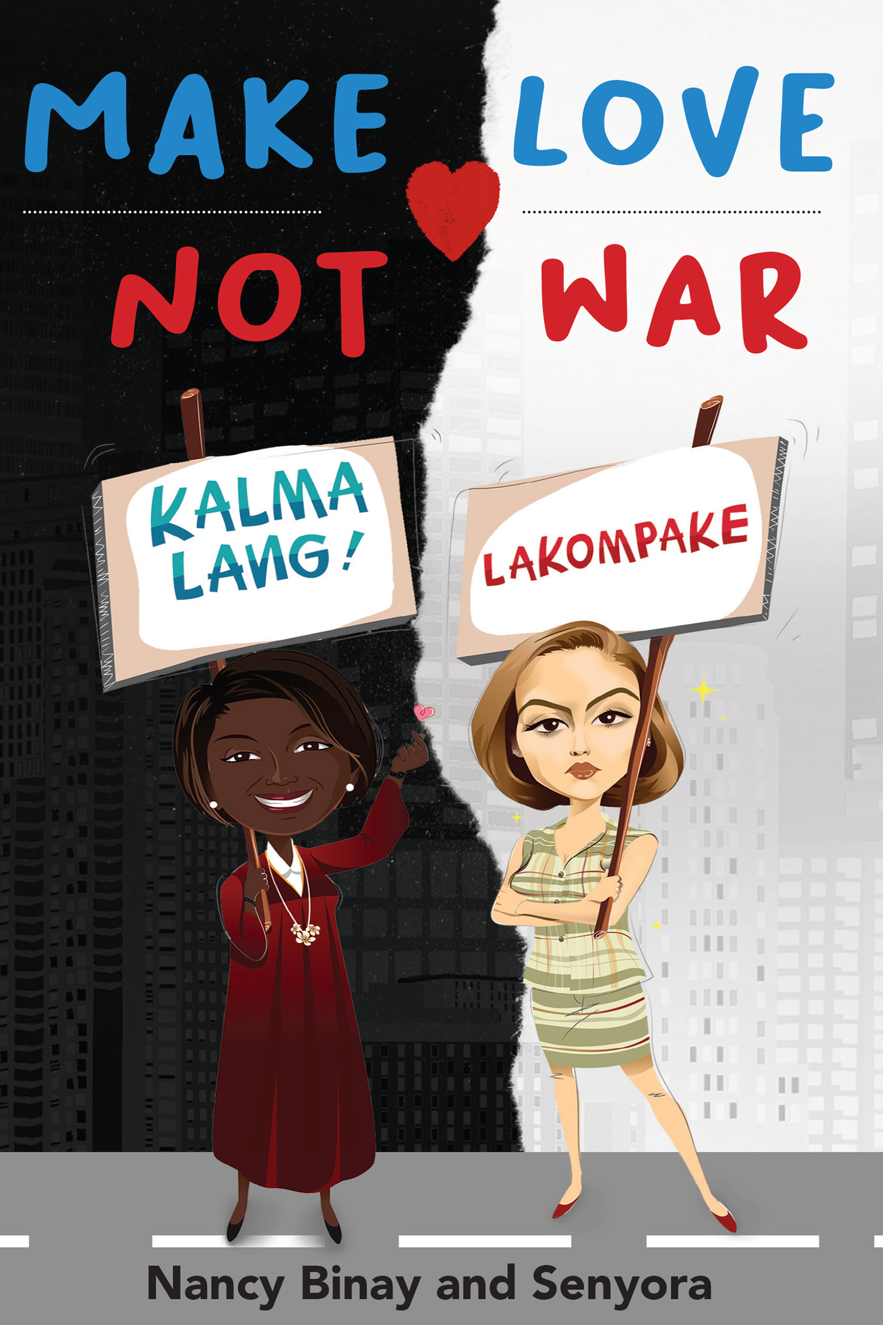 'Make Love Not War': Senator launches collab book