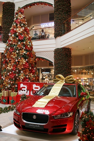 In honor of 20th Rockwell's 20th anniversary Power Plant Mall is giving away two jags in its Christmas raffle