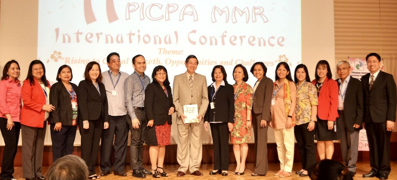 Members join the PICPA international conference in 2014 in Tokyo, where Amb. Manuel M. Lopez was the keynote speaker