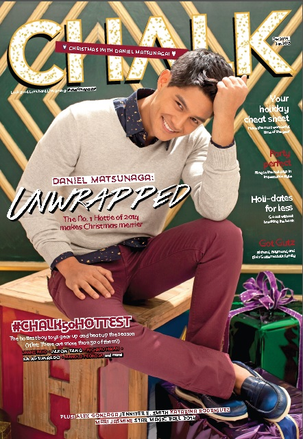 """Pinoy Big Brother: All In"" Big Winner Daniel Matsunaga is Chalk's December cover hottie"