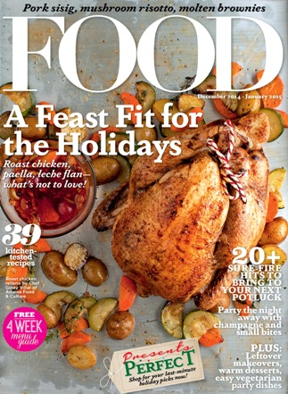 Food Magazine throws a feast this holiday season