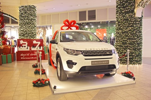 Land Rover Discovery Sport S cars await their new owners come the December 25 and February 1 draws