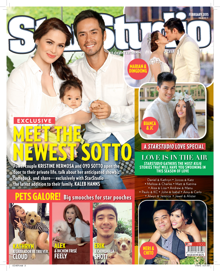 StarStudio Mag celebrates the 'Month of Love' in their February issue