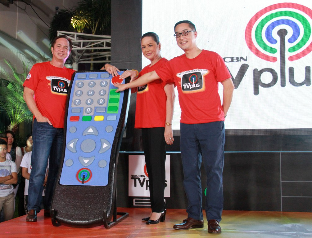 The launch of ABS-CBN TVplus