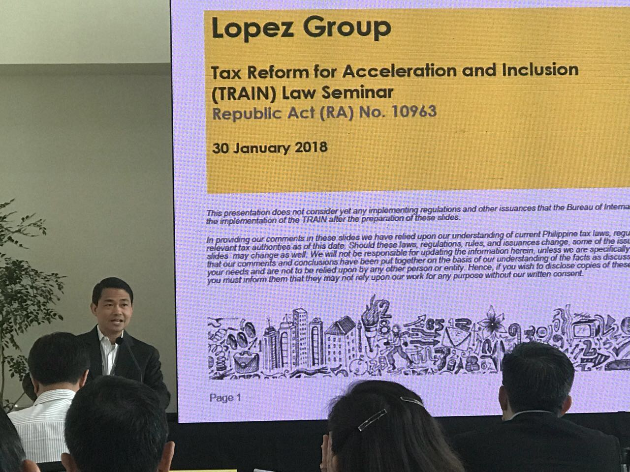 Lopez Group execs brush up on TRAIN
