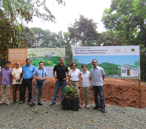 EDC, Lopez Inc. to put up 2nd nursery for endangered native trees