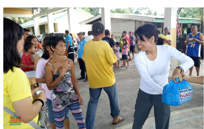 Operation Sagip extends help to Mayon victims