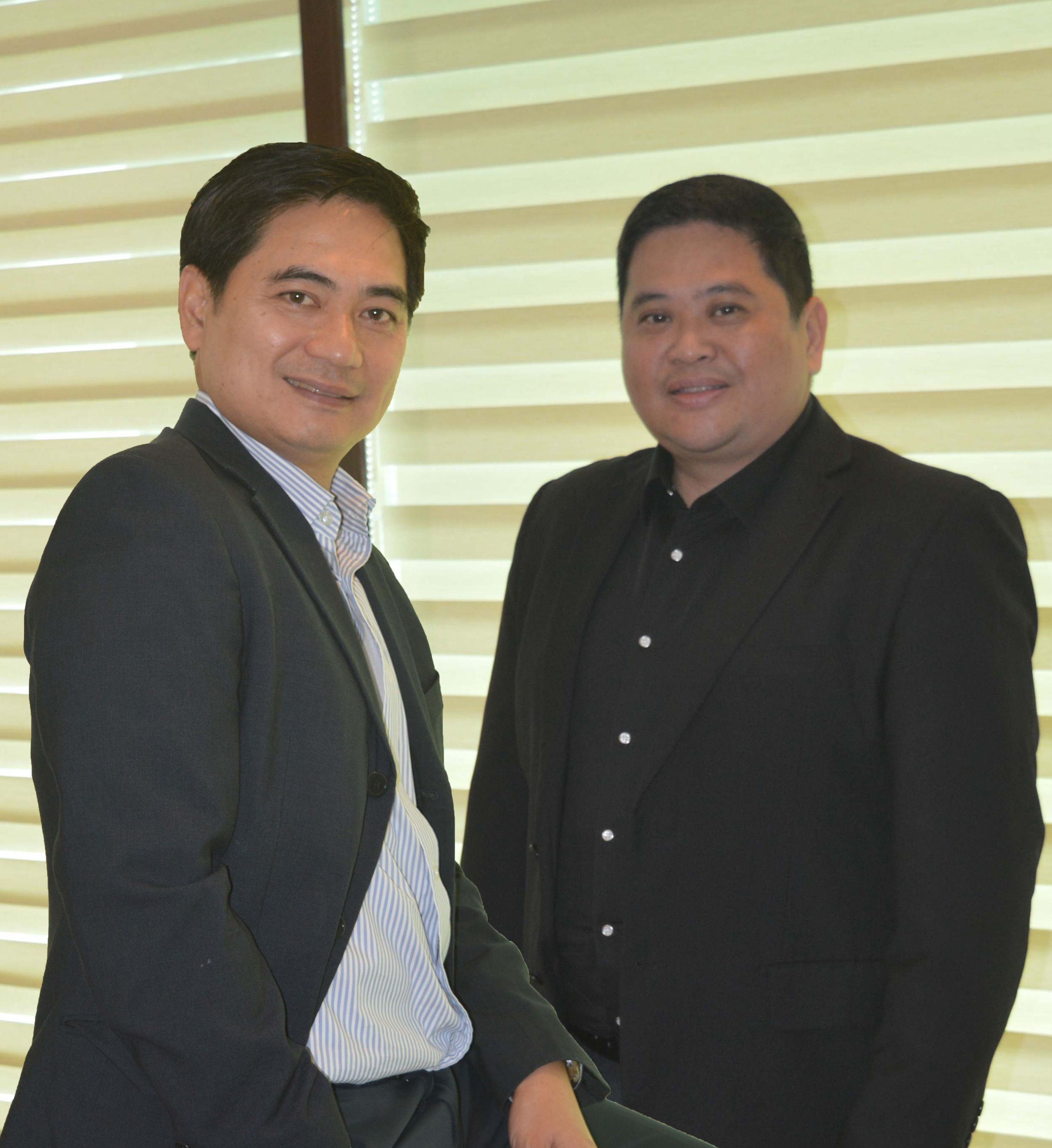 Armand Batalla and Erwyn Alcomendras