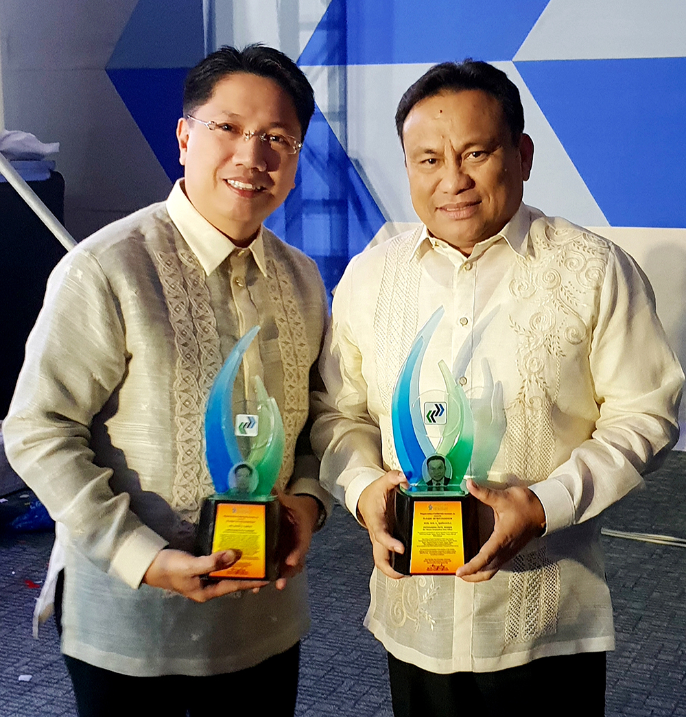 PICPA national awardee Jei-Jei Gertes with co-awardee Noe Quiñanola of the PRC
