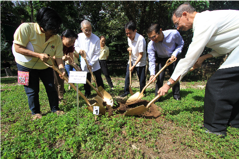 Enegy Development Corporation establishes threatened species arboretum in UP Greenpartnership