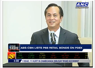 Chairman Eugenio Lopez III says in an interview on ANC that ABS-CBN has first-mover advantage in the DTT race