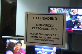 Operations at the DTT Headend